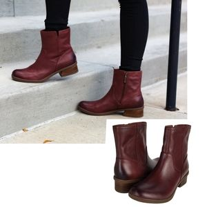 New Dansko bethanie burnished leather boots spice